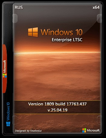 Download Windows 10 Enterprise LTSC 2019 x64 Rus by OneSmiLe (25 04